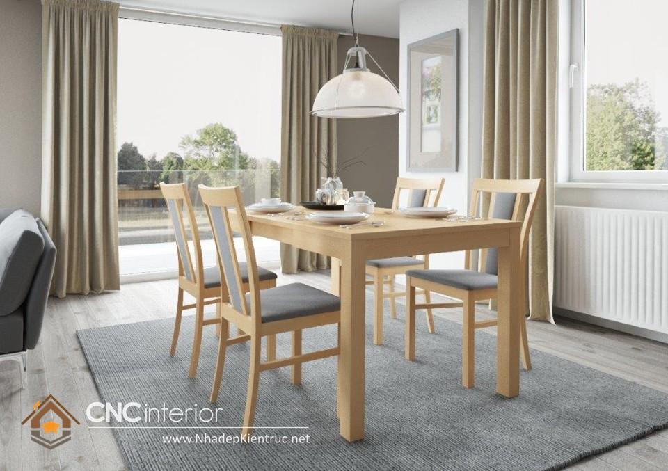 bộ bàn ăn đẹp hiện đại 01