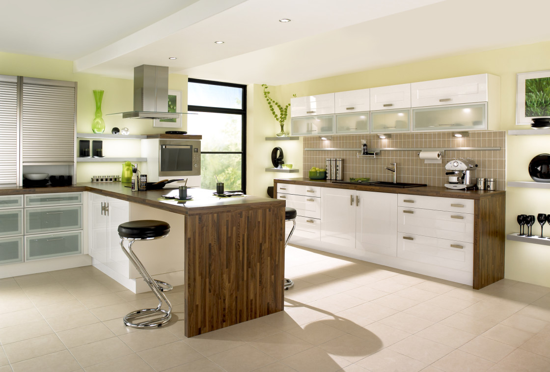 mẫu phòng bếp hiện đại 01