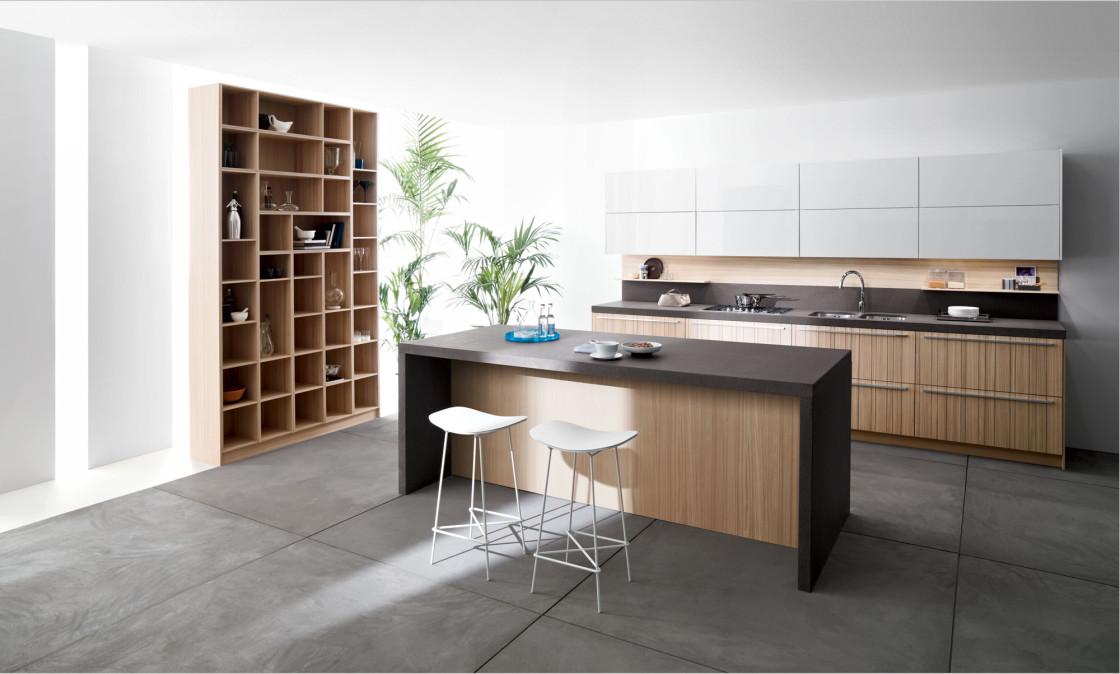 mẫu phòng bếp hiện đại 02