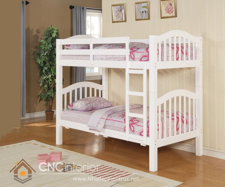 giường 2 tầng bằng gỗ 02
