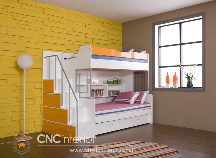 giường 2 tầng bằng gỗ 03