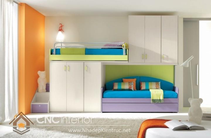 giường tầng cho phòng nhỏ 01