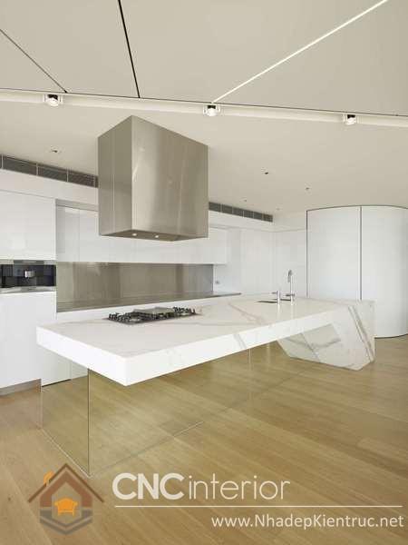 không gian bếp đẹp cho nhà ống 03