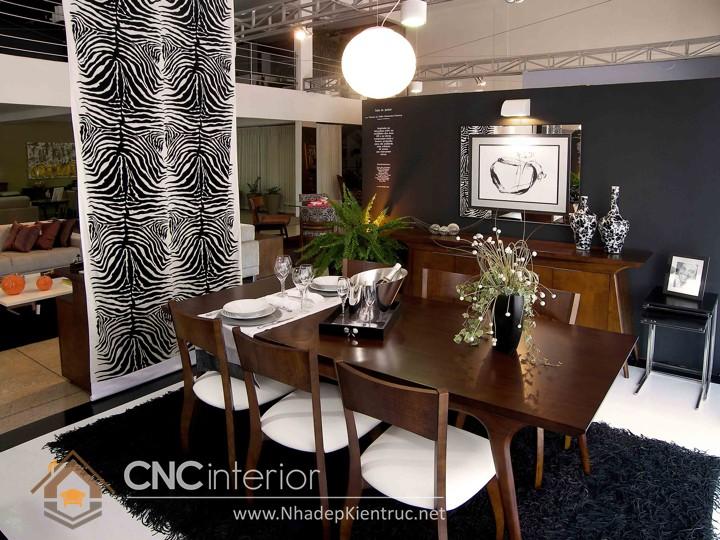 trang trí phòng ăn đơn giản 03