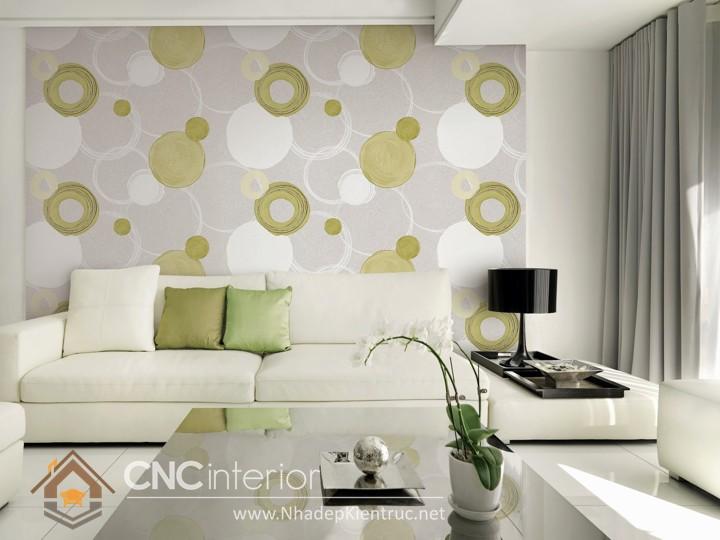 mẫu giấy dán tường phòng khách đẹp 03