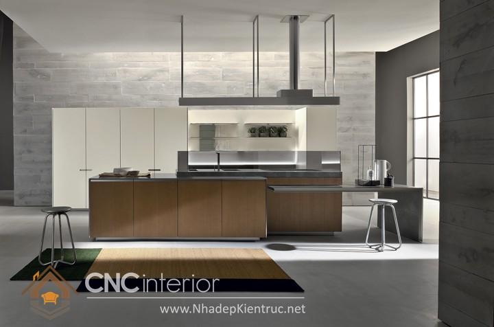 mẫu phòng bếp đơn giản 01