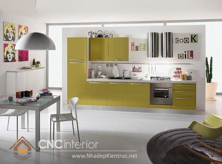 mẫu phòng bếp đơn giản 04