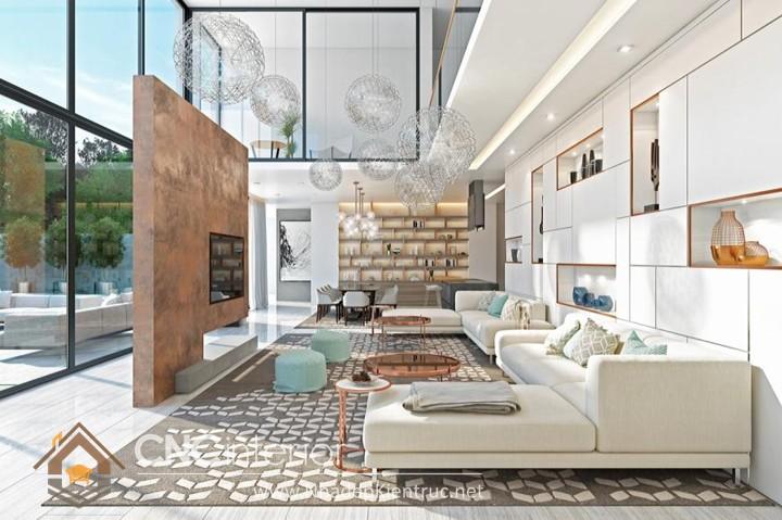 Thiết kế nội thất căn hộ Vinhomes Tân Cảng 01