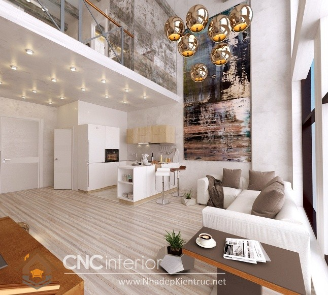 Thiết kế nội thất căn hộ Vinhomes Tân Cảng 07