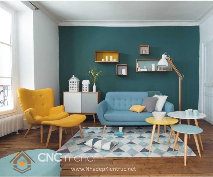 thiết kế phòng khách bằng gỗ 01