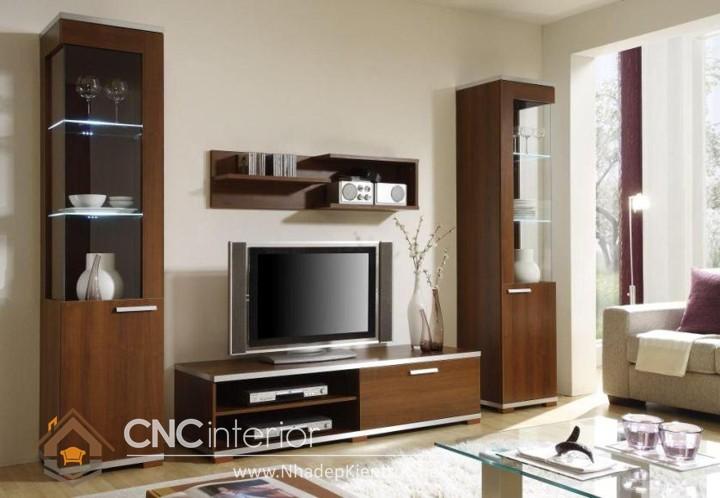 thiết kế phòng khách bằng gỗ 03