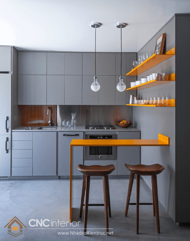 mẫu nhà bếp đơn giản 06