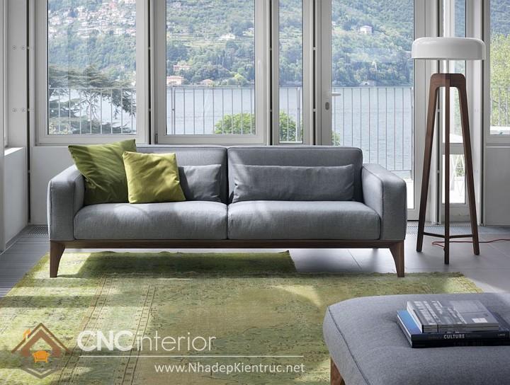 Bộ ghế sofa phòng khách đẹp CNC – H53