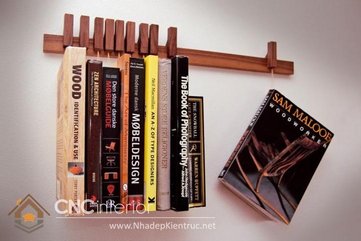 thiết kế kệ sách đơn giản 07