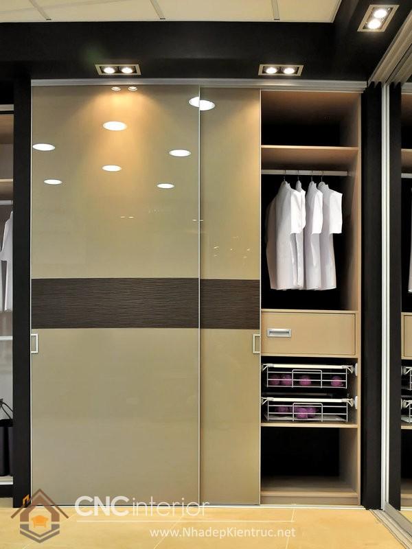 Tủ quần áo gỗ đẹp CNC-H 40