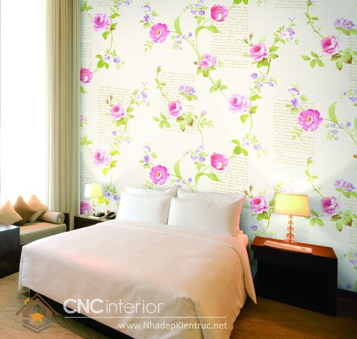 các mẫu giấy dán tường phòng ngủ 02