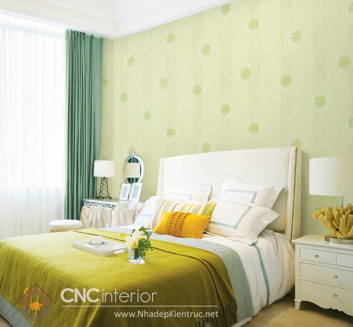 các mẫu giấy dán tường phòng ngủ 06