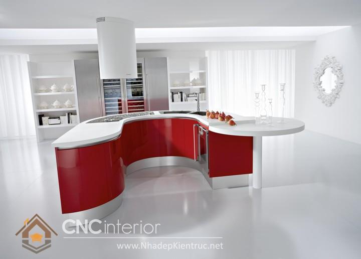 Mẫu tủ bếp Laminate 01