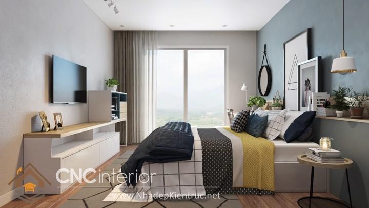 trang trí phòng ngủ nhỏ 01