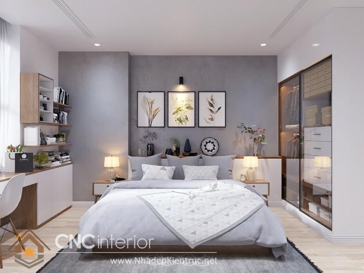 Trang trí phòng ngủ nhỏ 03