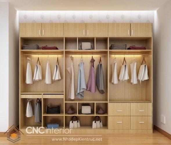 Các mẫu tủ quần áo gỗ đẹp