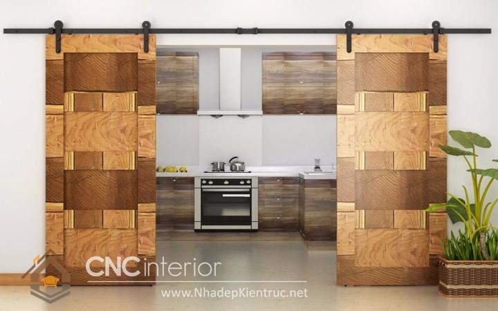 Các mẫu cửa gỗ công nghiệp 05