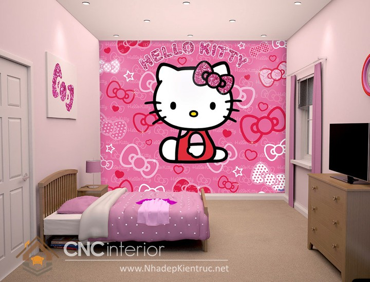 gi y d n t ng hello kitty c c d th ng. Black Bedroom Furniture Sets. Home Design Ideas