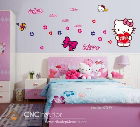 Giấy dán tường Hello Kitty 03
