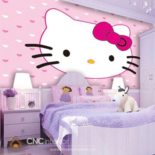 Giấy dán tường Hello Kitty 05