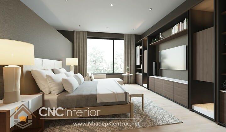 thiết kế phòng ngủ đơn giản mà đẹp 02