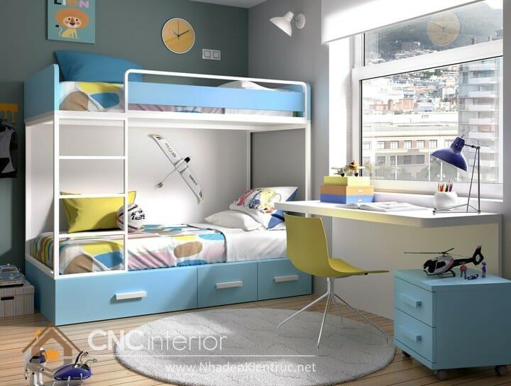 12 Cách trang trí phòng ngủ cho con trai đầy sáng tạo