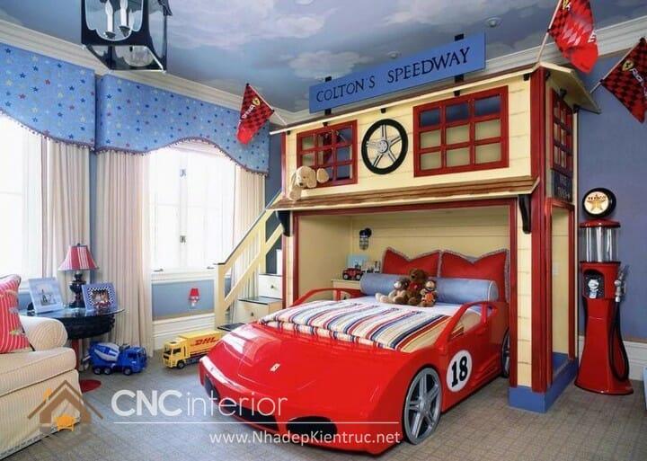 Cách trang trí phòng ngủ cho con trai 11