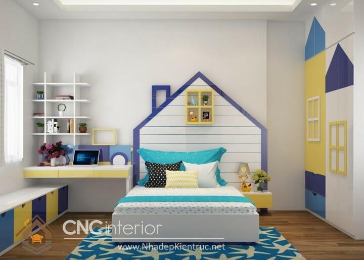 Cách trang trí phòng ngủ cho con trai 05