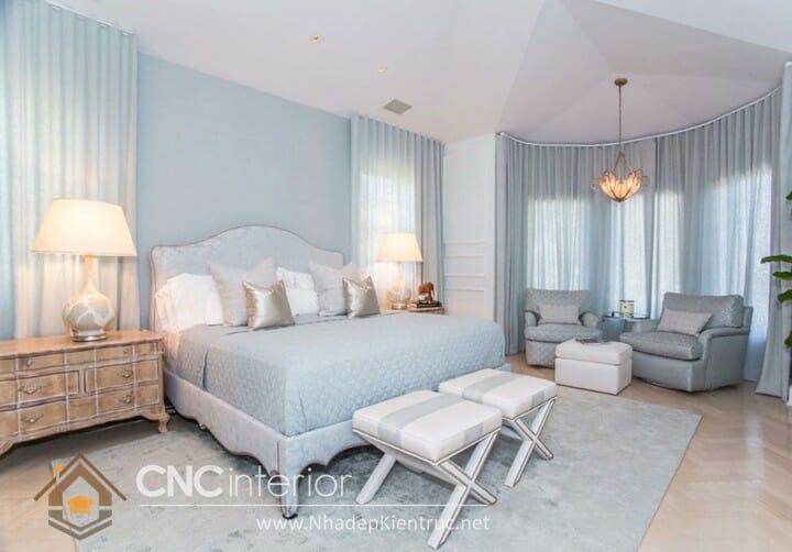 phòng ngủ màu xanh dương 05
