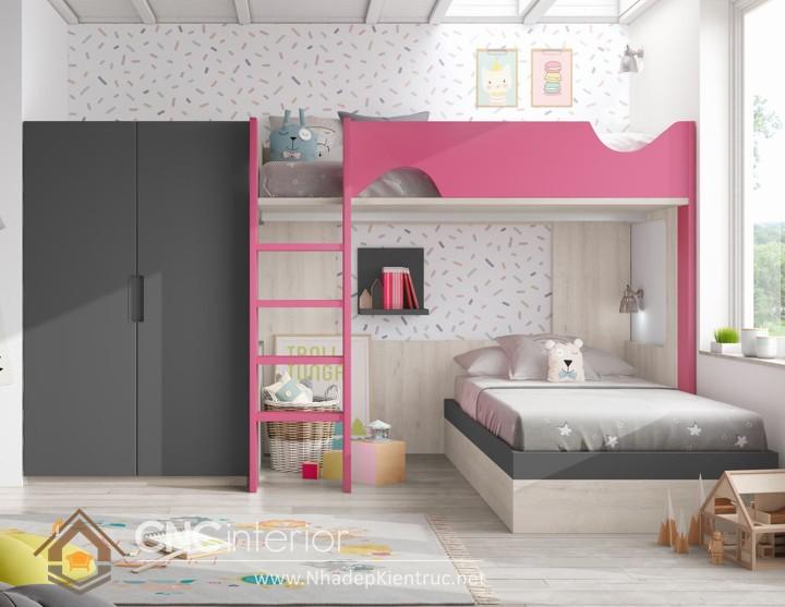 cách trang trí phòng ngủ cho con gái màu hồng 12