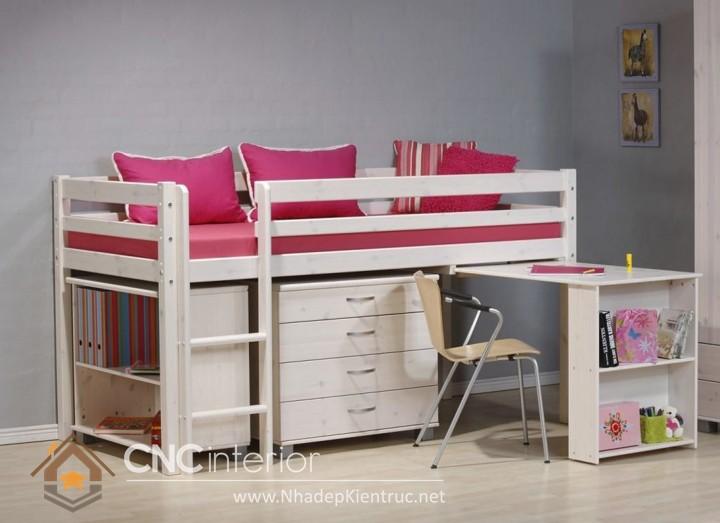 cách trang trí phòng ngủ cho con gái màu hồng 05