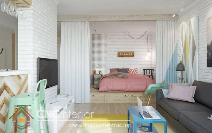 Cách trang trí phòng ngủ nhỏ đơn giản mà đẹp 04