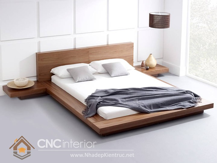 Các mẫu giường ngủ gỗ đẹp
