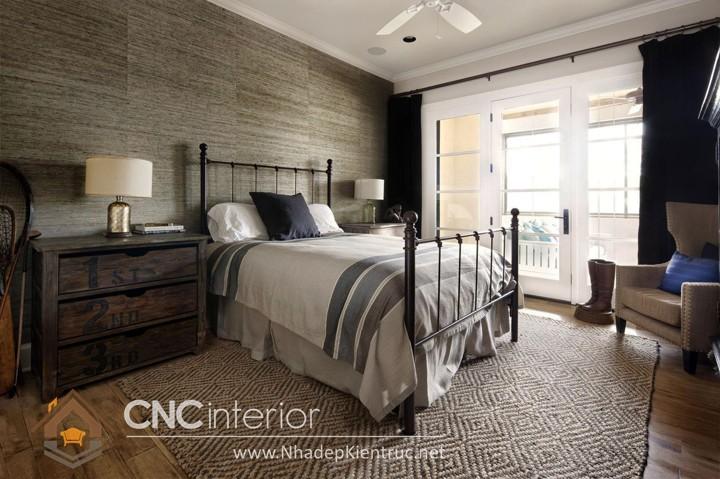 Trang trí phòng ngủ theo phong cách Vintage 01