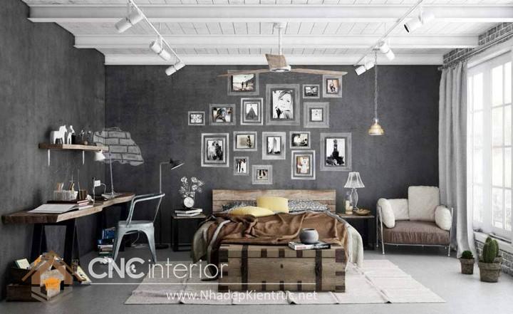 Trang trí phòng ngủ theo phong cách Vintage 13