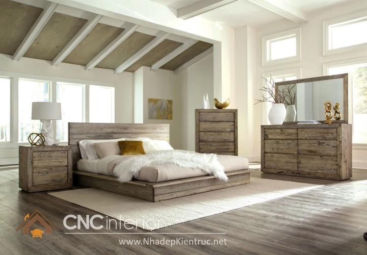 Trang trí phòng ngủ theo phong cách Vintage 03