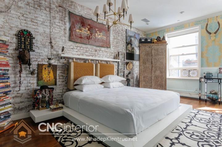 Trang trí phòng ngủ theo phong cách Vintage 04