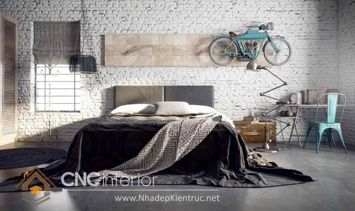 Trang trí phòng ngủ theo phong cách Vintage 05