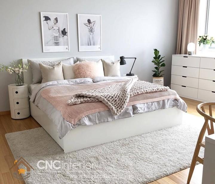 trang trí phòng ngủ theo phong cách hàn quốc 1