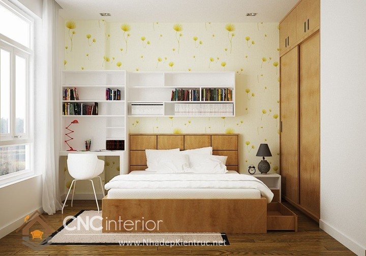 trang trí phòng ngủ theo phong cách hàn quốc 2