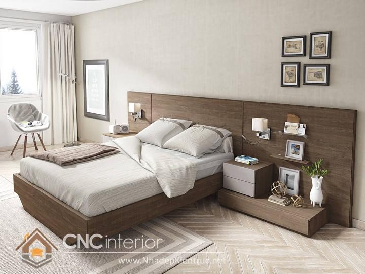 Trang trí phòng ngủ bằng ảnh 01