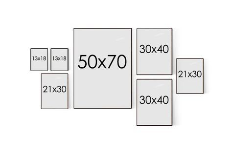 Trang trí phòng ngủ bằng ảnh 12