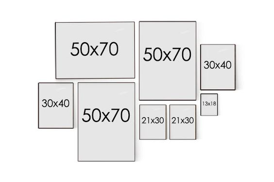 Trang trí phòng ngủ bằng ảnh 14