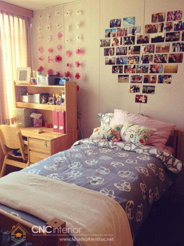 Trang trí phòng ngủ bằng ảnh 04