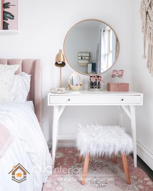 cách bố trí gương trong phòng ngủ 1